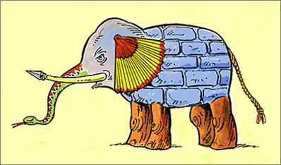 Blindmen and elephant